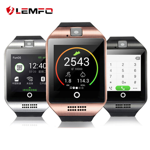 LEMFO Q18 Touch Screen Fitness Tracker Smartwatch