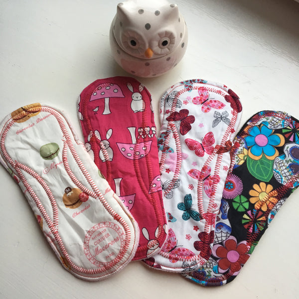 Making the switch to cloth pads isn't going back to the stone age!