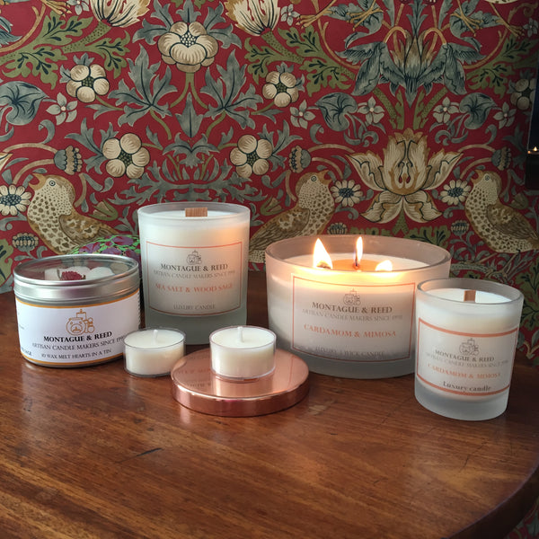 Pack of 6 scented Soy Wax Tea lights