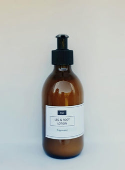 NEW Organic Peppermint Foot & Leg Lotion