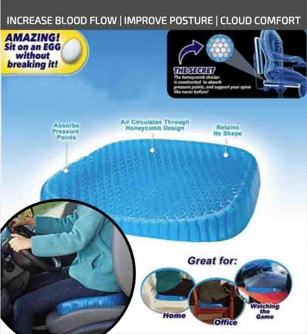 ComfiCloud™ Spinal Comfort Cushion + Car Seat Lumbar Support (Bundle)