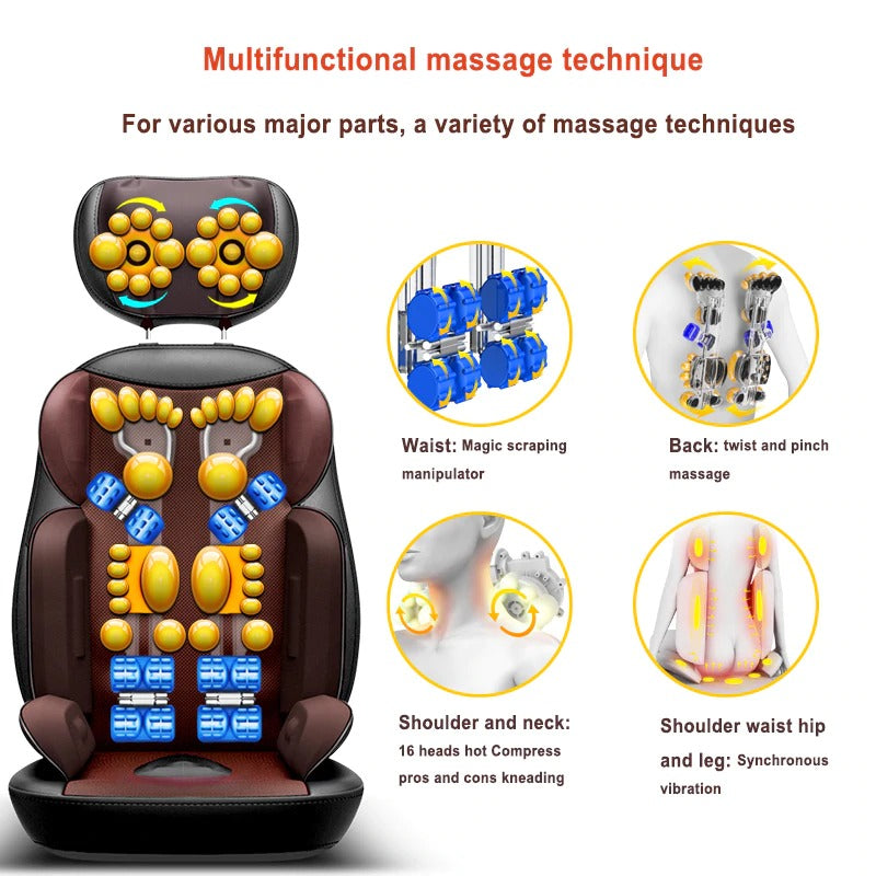 Smart Massage Cushion - 22 Nodes