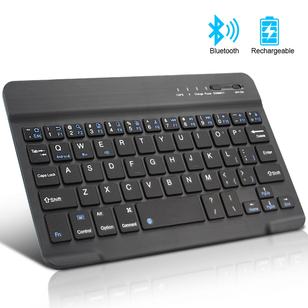 Universal Mini Bluetooth Wireless Keyboard for IOS, Android and Windows