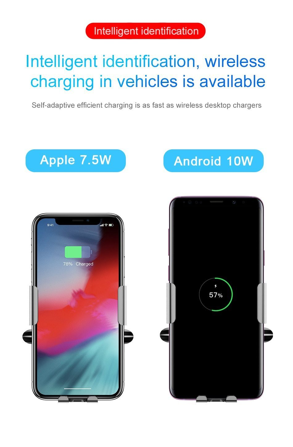 Qi Car Wireless Charger