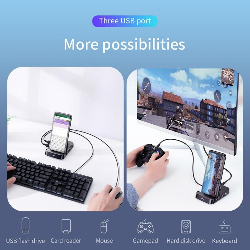 USB Type C HUB Plus Docking Station