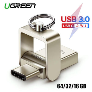USB Flash Drive 3.0 USB C OTG Pendrive / Adapter