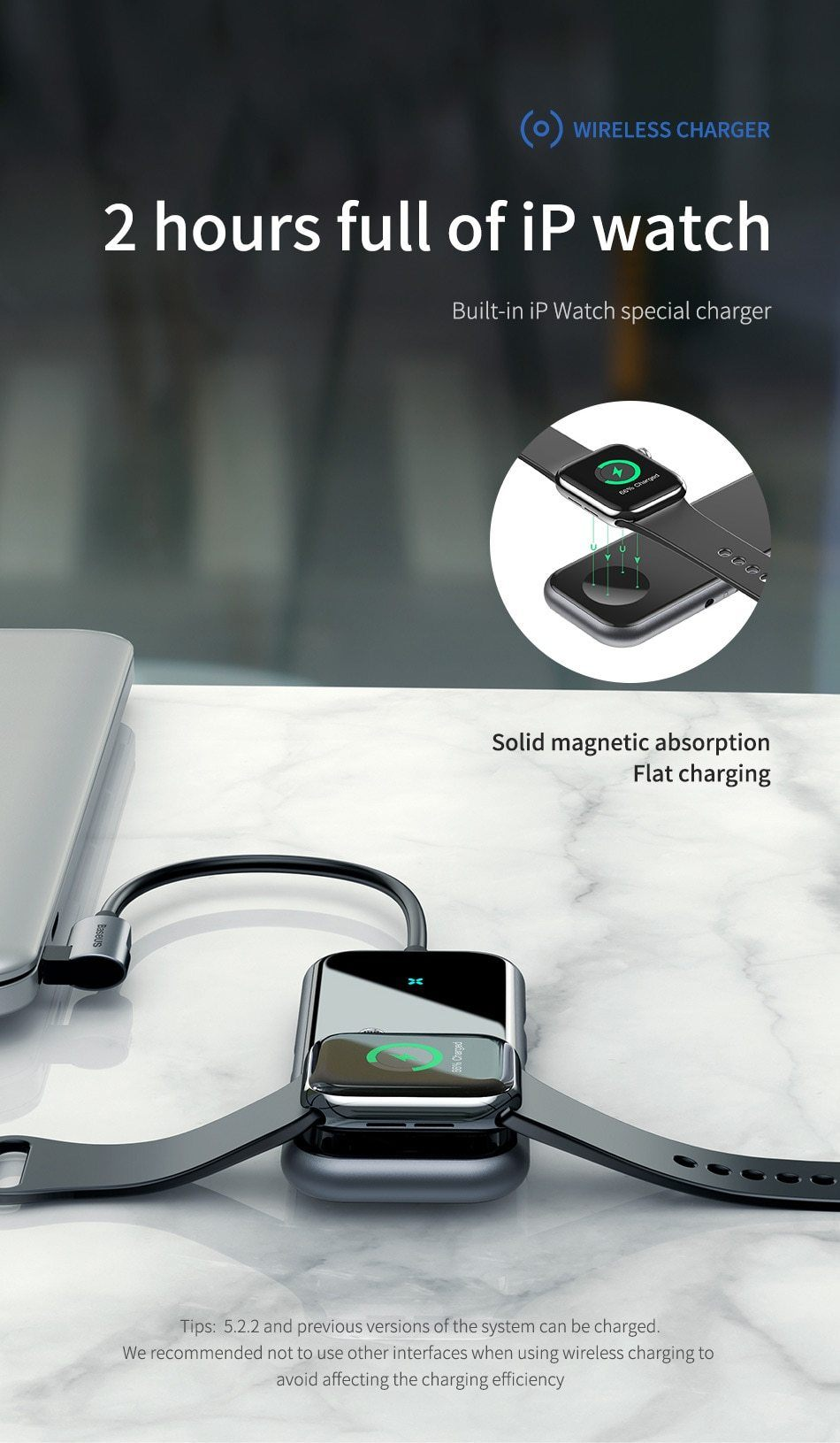 USB Type C HUB Plus iWatch Wireless Changer