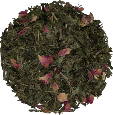 Organic Kyoto Cherry Rose Green Tea