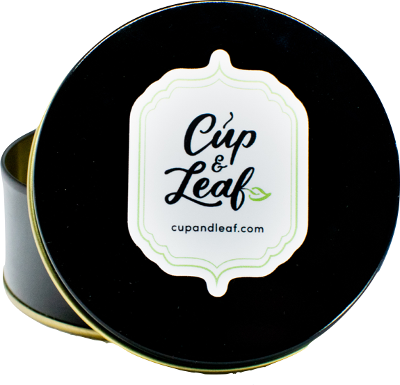 Cup & Leaf Matcha Tin