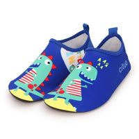 Blue Dino Kids Water Socks