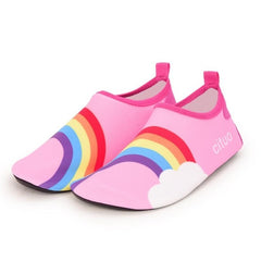 Pink Rainbow Kids Water Socks