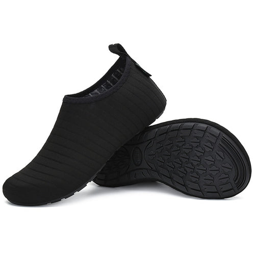 All Black Water Sock Unisex