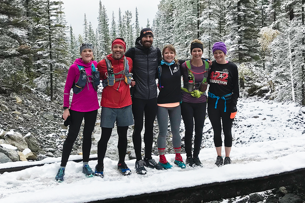 5 Peaks Canmore Retreat 2018 gait analysis