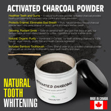Activated Charcoal Teeth Whitening w/ Tooth Brush Ⓥ