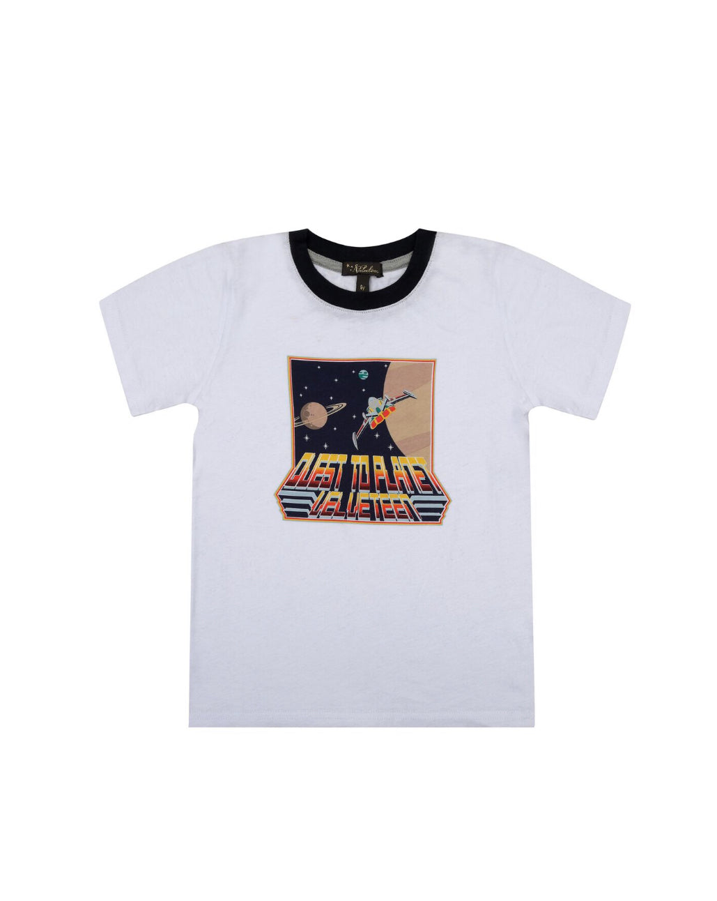 TRISTAN SHORT SLEEVE CREW NECK PLANET SHIRT - Sayings Kids