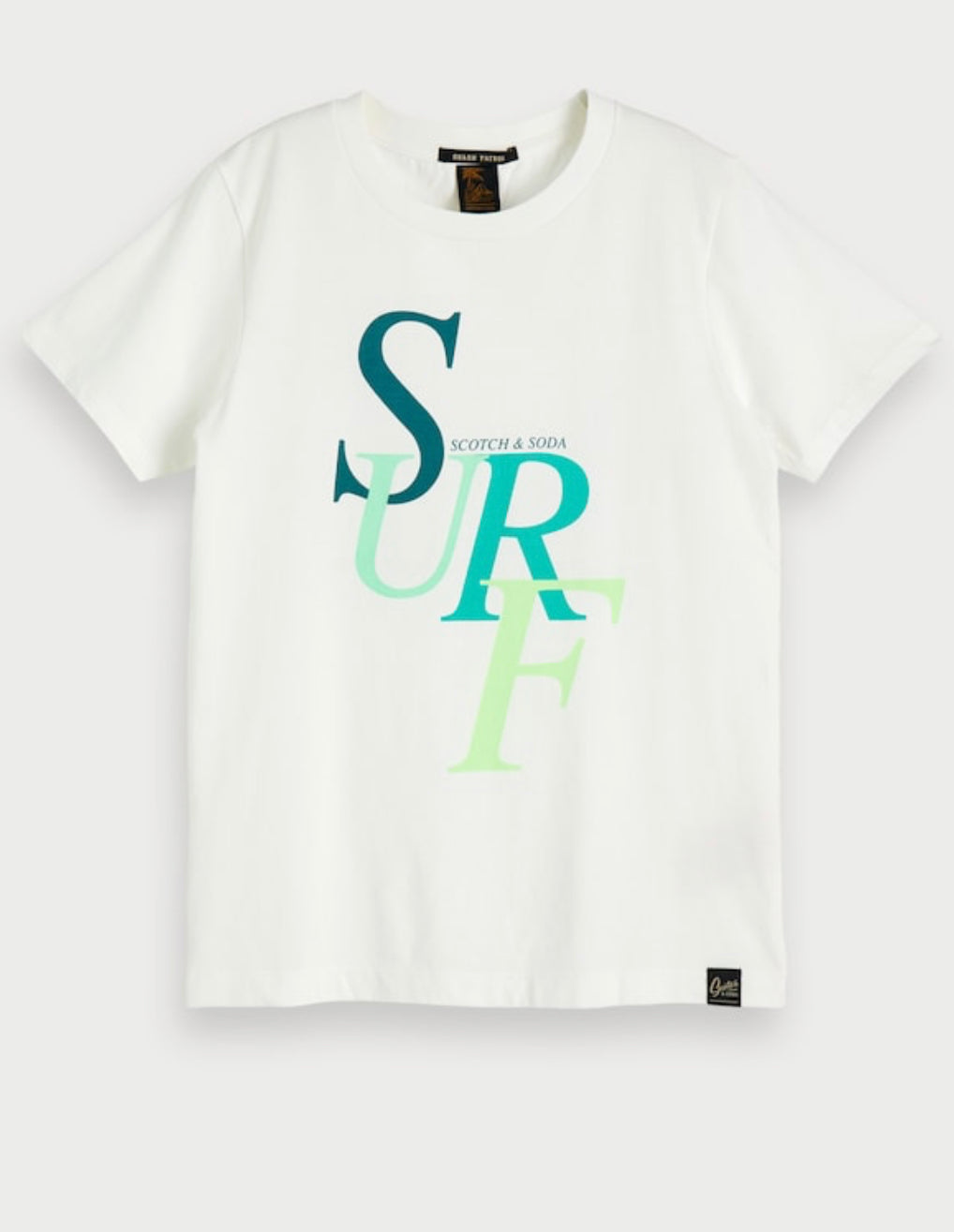 ORGANIC SURF TEE - Sayings Kids