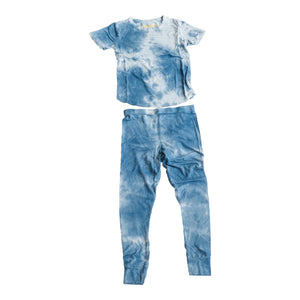 REBEL TIE DYE BAMBOO SET BLUE