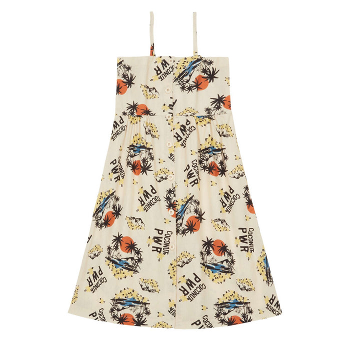 HAWAIIAN LONG DRESS - Sayings Kids
