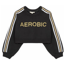Load image into Gallery viewer, AEROBIC CROPPED SWEATSHIRT
