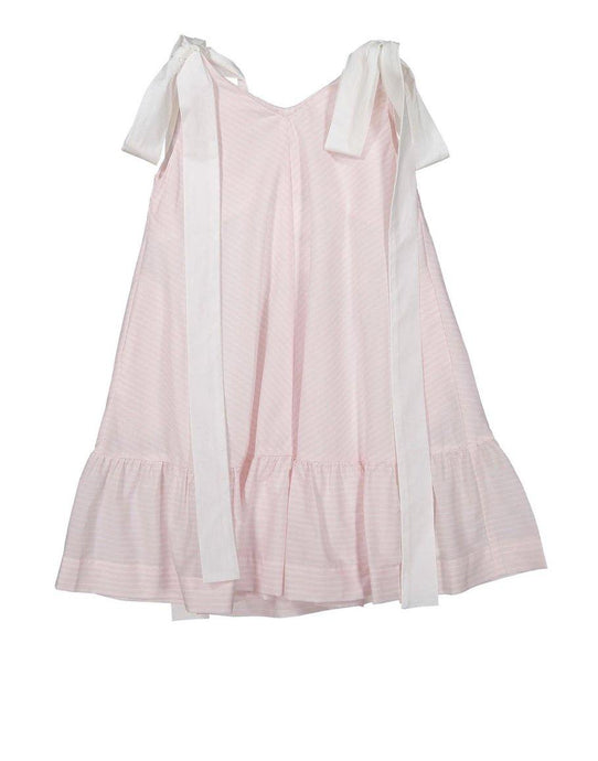 PINK STRIPES AZAMI DRESS - Sayings Kids