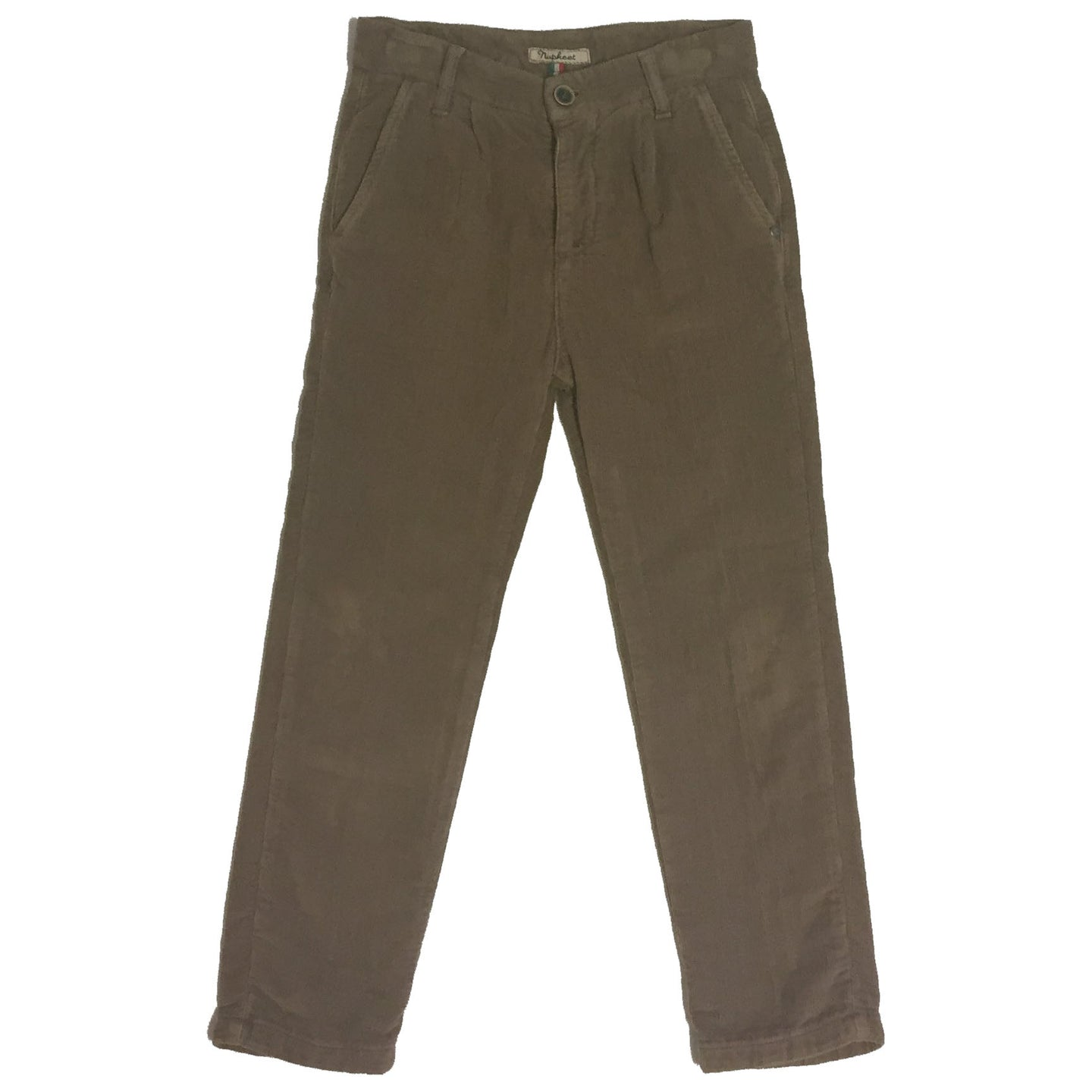 DARK TAN CORDUROY TROUSERS - Sayings Kids