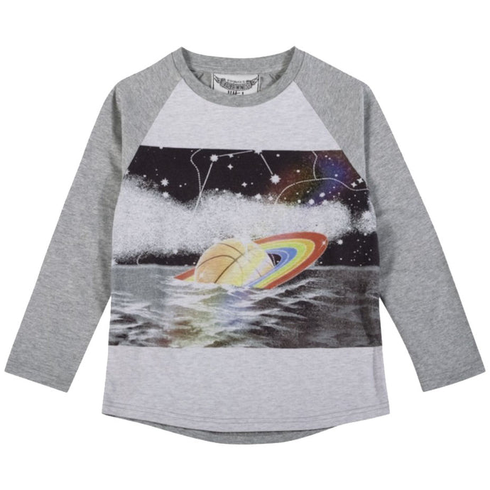 FALLEN STAR LONG SLEEVE RAGLAN T-SHIRT