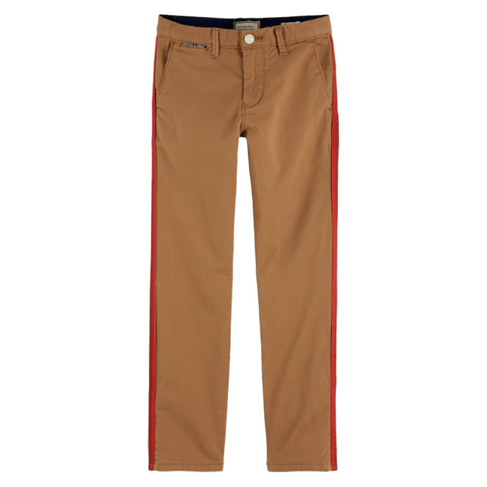 CHINO PANT IN NUTMEG
