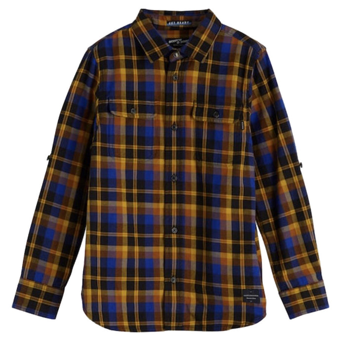 YARN DYED BUTTONDOWN PLAID SHIRT