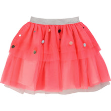 Load image into Gallery viewer, MESH TUTU WITH SEQUIN AND POMPOM DETAILS - Sayings Kids