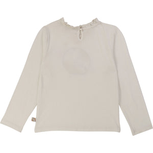 IVORY TOP WITH FRILL COLLAR CEREMONY - Sayings Kids