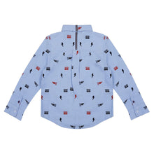 Load image into Gallery viewer, SEBASTIAN EMBROIDERED LONG SLEEVE BUTTON DOWN SHIRT