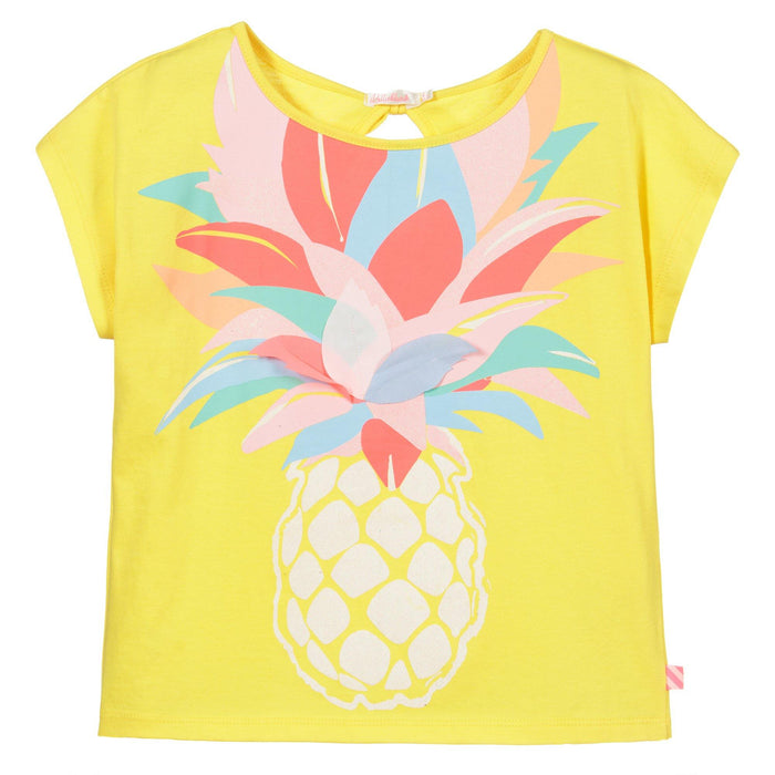 LARGE PINEAPPLE PRINT TEE