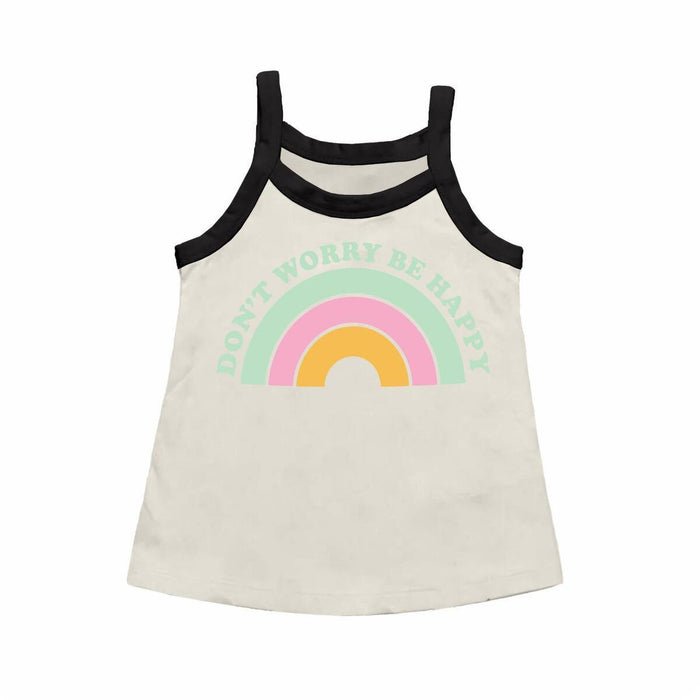 DON'T WORRY BE HAPPY TANK TOP