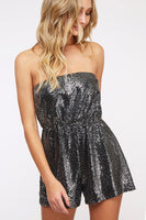 Sequined Holiday Romper