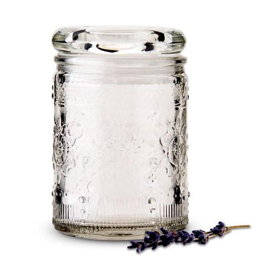 Floral Glass Mason Jar Party Favors
