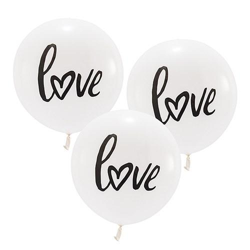 "Love 17"" Party Decoration Balloons"