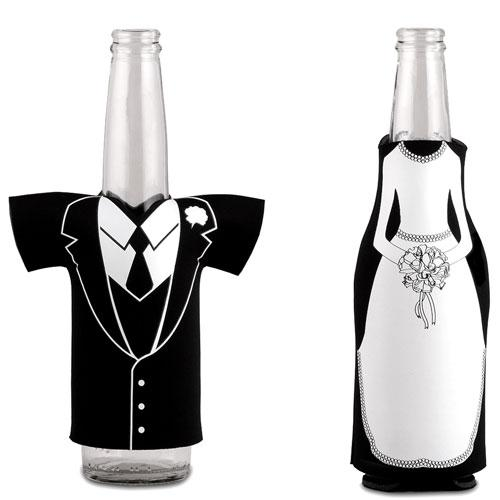 Bride and Groom Beer Koozie
