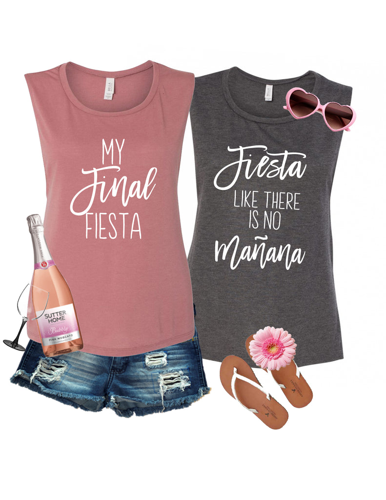 Final Fiesta Bachelorette Party Shirt