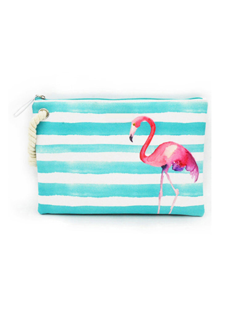 Flamingo Wet Swimsuit Bag