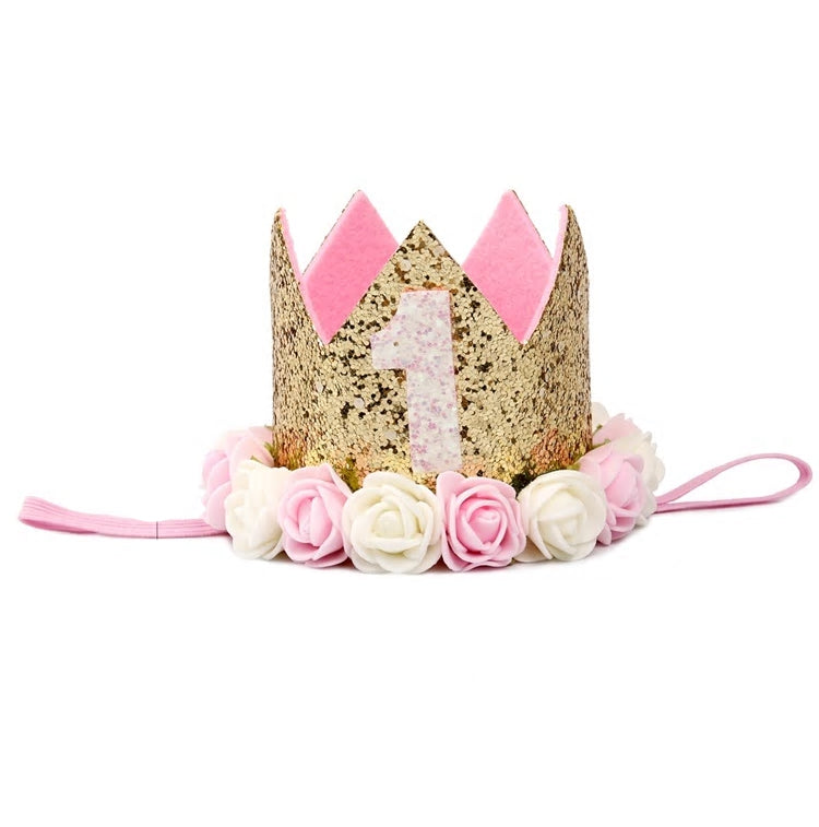 Baby First Birthday Headband