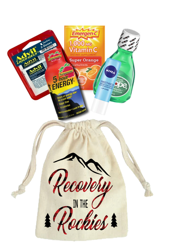 Rowdy in the Rockies Hangover Relief Kits
