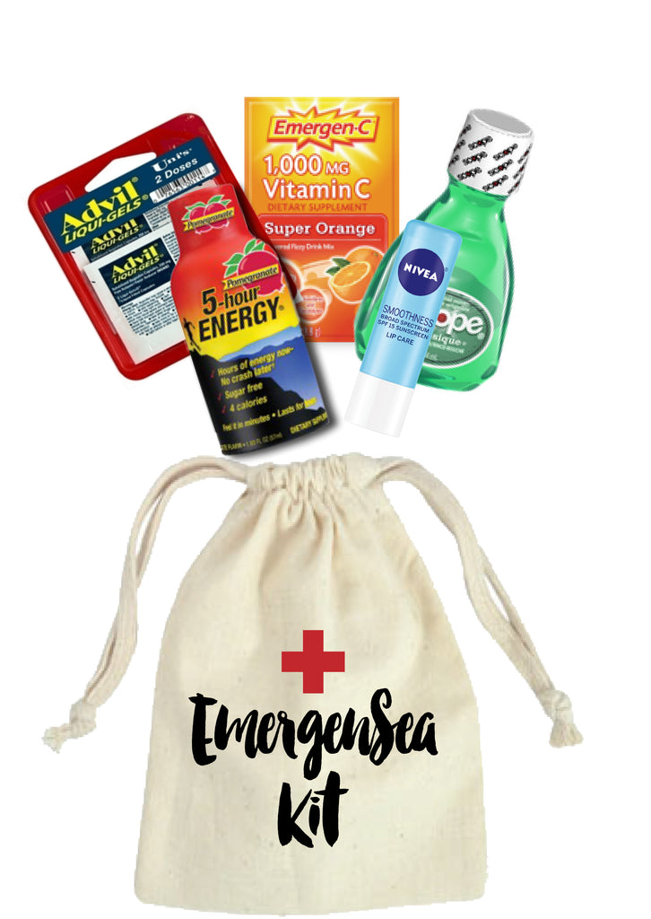 Emergency Hangover Kit Bags