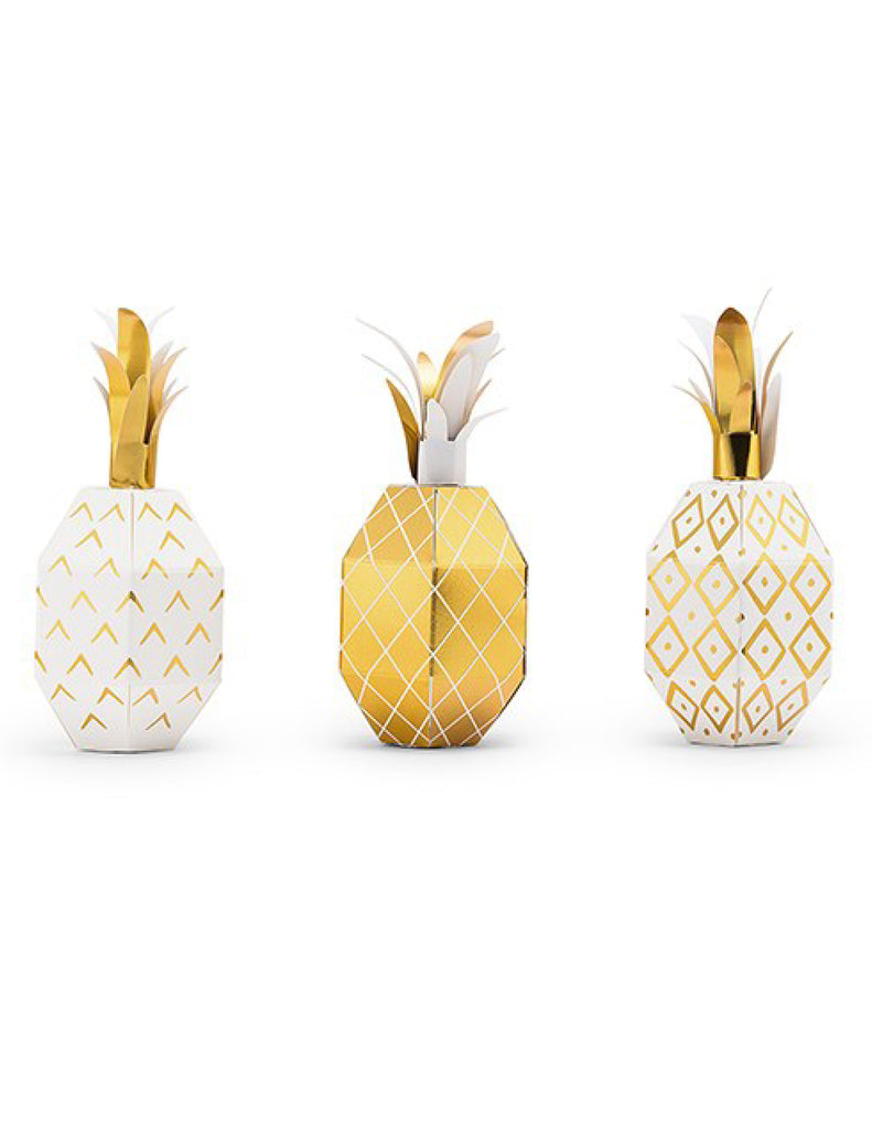 Tropical Pineapple Party Favors