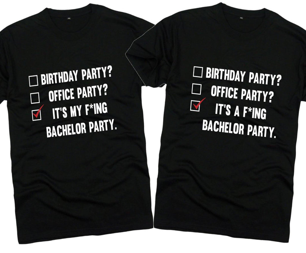 Bachelor Party T Shirt