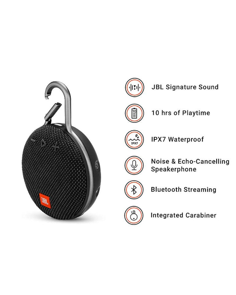 JBL CLIP 3 PORTABLE WIRELESS BLUETOOTH SPEAKER Shop&Smile PH - The Store for Happy Filipino Shoppers