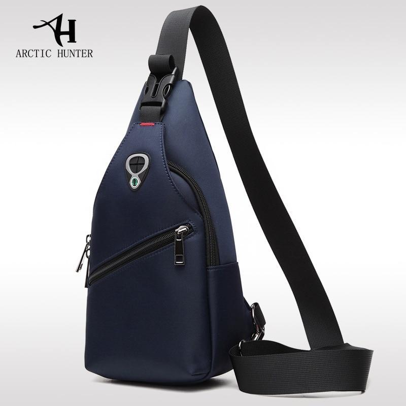 Korea Style Chest Bag Waterproof Shoulder Bag Blue Shop&Smile PH - The Store for Happy Filipino Shoppers