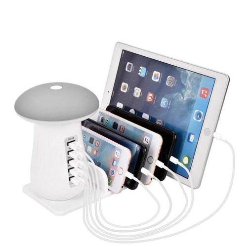 Multi Port Quick Charger 3.0 Mushroom Lamp Shop&Smile PH - The Store for Happy Filipino Shoppers