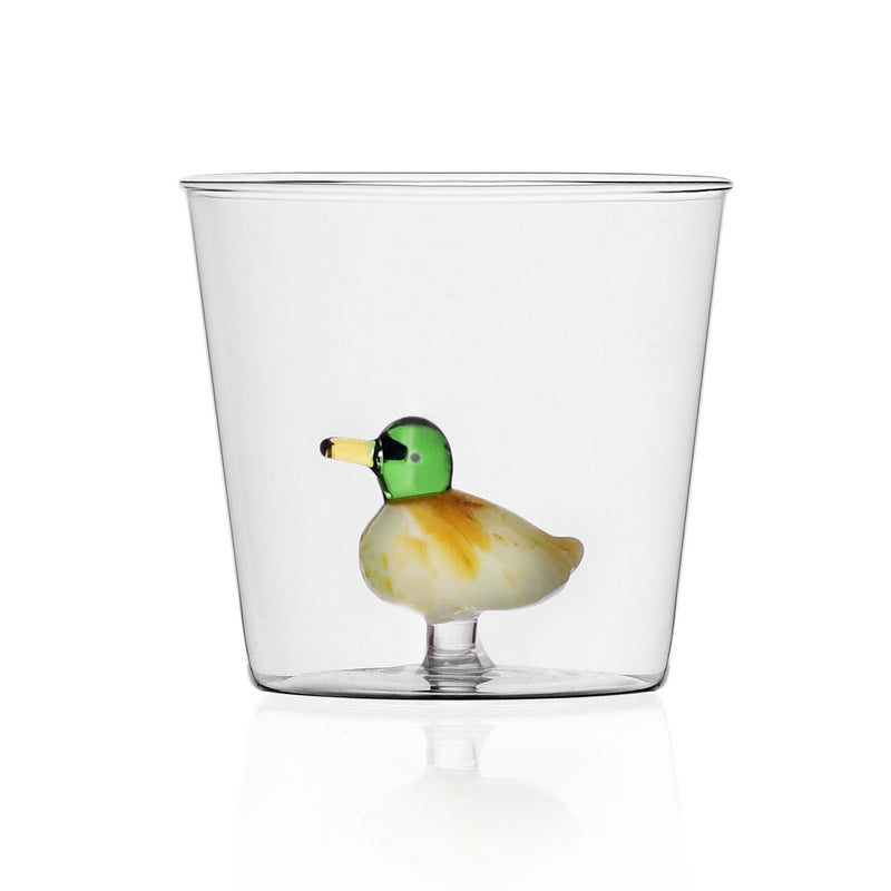 Duck design  tumblers glass