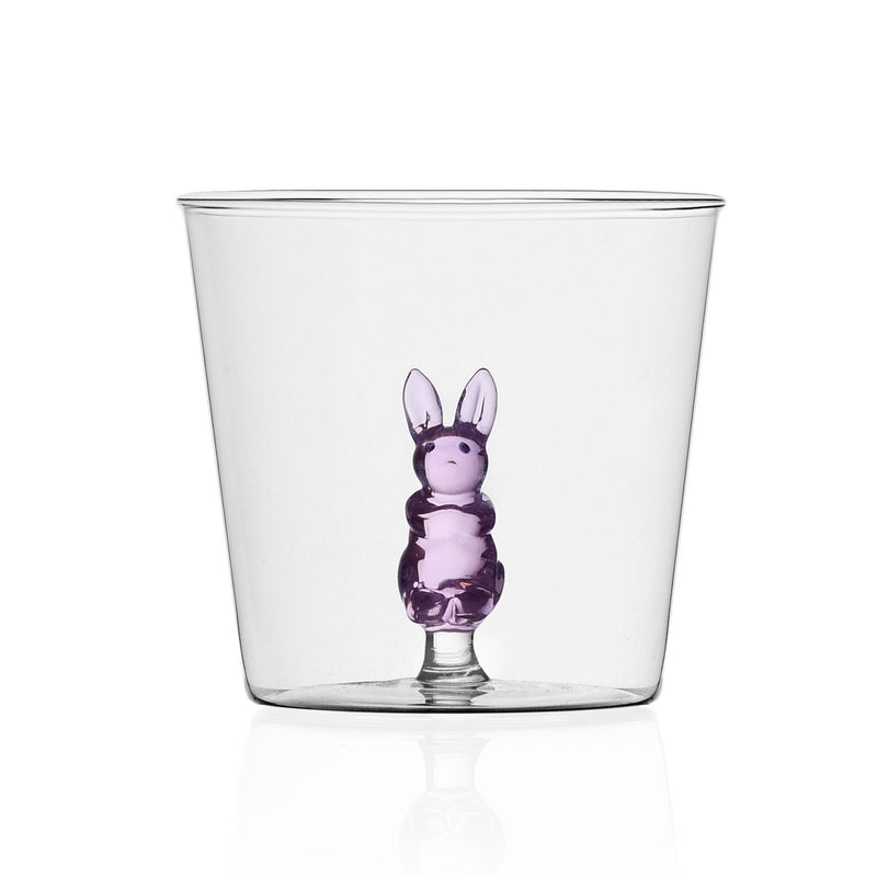 Box of 6 Handblown Assorted Animal Tumblers