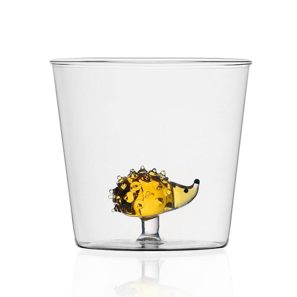 Ichendorf hedgehog novel water glass tumbler Italian design
